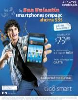 ALCATEL onetouch MPOP smartphone promotion TIGO