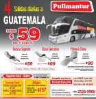 BUS viaja GUATEMALA TEGUCIGALPA ANTIGUA ofertas PULLMANTUR