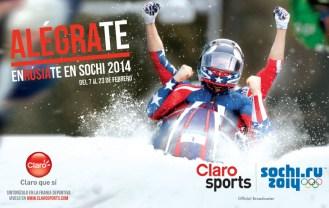 CLARO sport presenta SOCHI.ru 2014