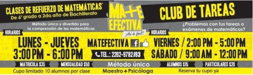 CLUB DE TAREAS clases de refuerzo - 11feb14