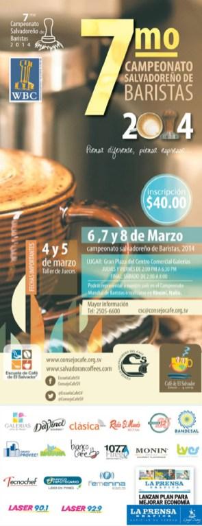 Campeonato Salvadoreño de BARISTAS 2014