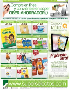 Compra en linea SUPERSELECTOS.com ofertas exclusivas - 14feb14