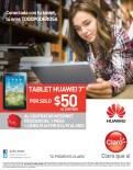 Conetactado con tu TABLET HUAWEI Claro promociones - 11feb14