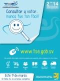 Consultar y Votar 9 de Marzo APP TSE el salvador