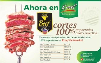 Cortes de carnes importados KREEF el salvador - 21feb14