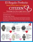 Dia del amor y la Amistad regalo perfecto CITIZEN relojes