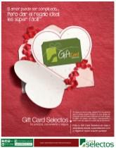 GIFT CARD Selectos san valentin 2014