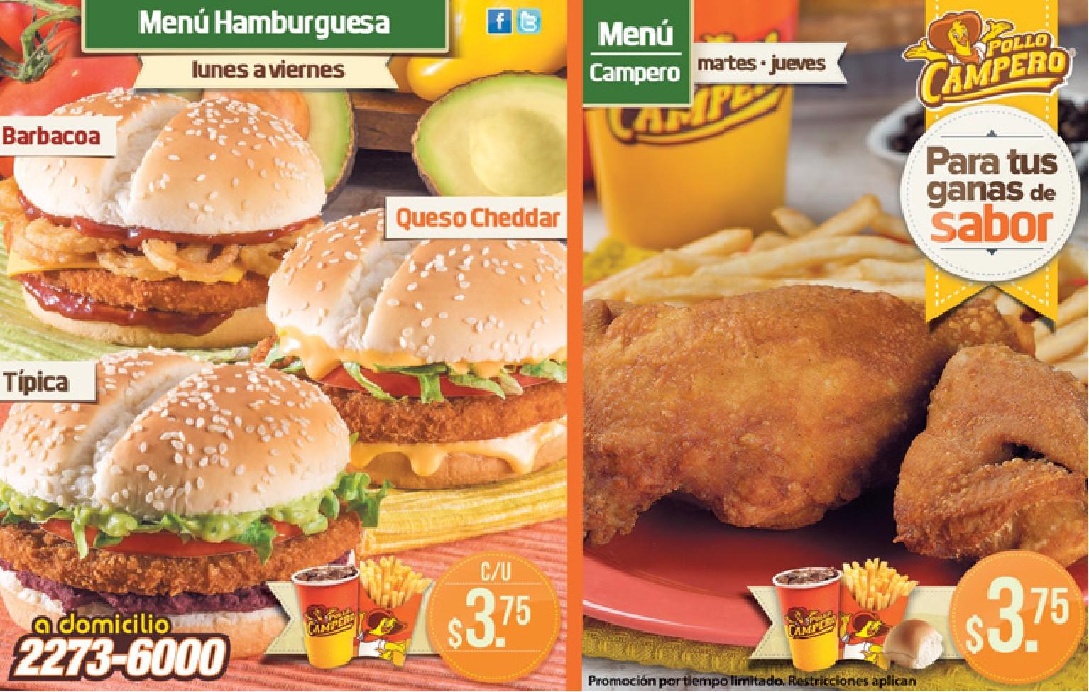 ganas de sabor promociones pollo campero el salvador menus rh ofertasahora com pollo campero el salvador+numero a domicilio pollo campero el salvador a domicilio telefono