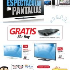 Gran venta espectacular de pantallas LA CURACAO el salvador - 20feb14