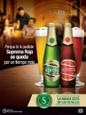 ILC mantiene cerveza SUPREMA ROJA