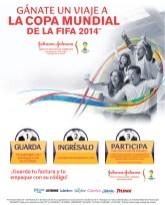 Johnson & Jonhson GANA un viaje a la copa mundial de la FIFA 2014