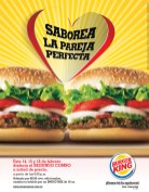 La Pareja Perfecta BURGER KING el salvador - 14feb14