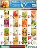 Martes de FRUTAS y VERDURAS Super Selectos ofertas - 11feb14