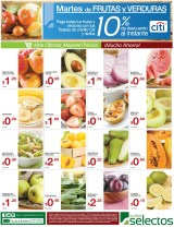 Martes de FRUTAS y VERDURAS super selectos ofertas - 18feb14