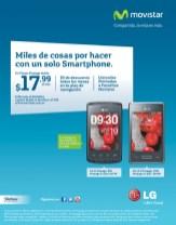 Miles de cosas con un SMARTPHONE LG L1 L3 Movistar el salvador