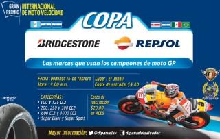 Moto velovidad COPA brigestone REPSOL el salvador 2014