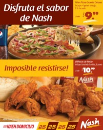 NASH restaurantes el salvador POLLO y PIZZA - 28feb14