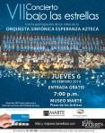 Orquesta sinfonica esperanza azteca evento MARTE