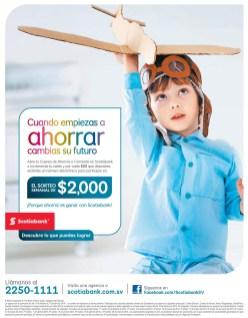 Promocion de ahorro SCOTIABANK el salvador - 24feb14