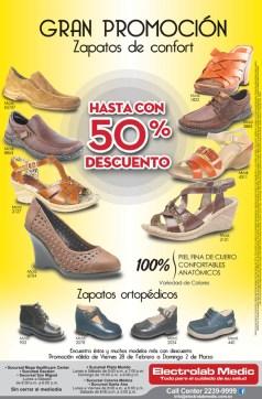 Promociones en zapatos medicados confort ELECTRO LAB MEDIC el salvador
