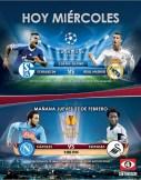 UEFA champion league schalke 04 vs Real madrid - 26feb14