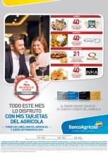 Ultima semana para disfrutar con BANCO AGRICOLA descuentos - 25feb14