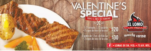 Valentines SPECIAL el lomo y la aguja 14 febrero