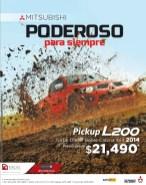 compra auto Mitsubishi pickup L200 4x4 2014