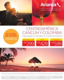 compra y viaja Centroamerica Cancun COlombia AVIANCA ofertas - 06feb14