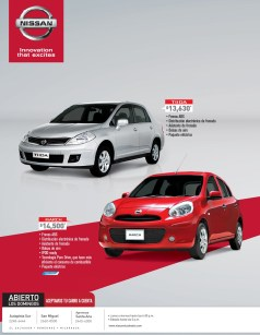 comprar NISSAN March 2014 - 03feb14
