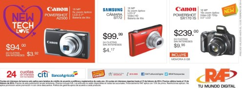 new TECH LOVE promociones RAF el salvador - 07feb14