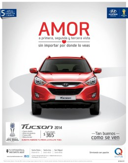 new design TUCSON 2014 HYUNDAI motors