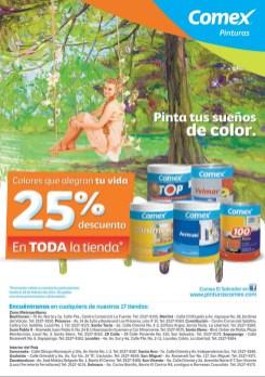 pinturas COMEX el salvador descuentos - 21feb14