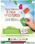 promocion SUPER SELECTOS te paga los estudios - 01feb14