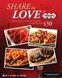 share the love at FRIDAYS - 14feb14