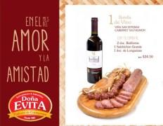 vinos y embutidos premium DOÑA EVITA - 14feb14