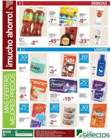 Articulos para el hogar DESCUENTOS super selectos - 14mar14