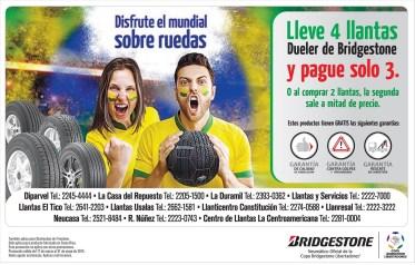 BRIDGESTONE tires promocion mundialista - 24mar14