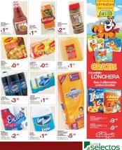 CEREALES Kelloggs promocion lonchera Super Selectos el salvador - 01mar14