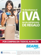 Certificados de Regalo SEARs el salvador - 01mar14