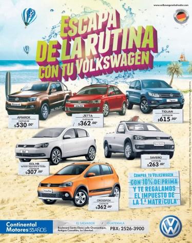 Continental Motors el salvador AUTO Volkswagen - 17mar14