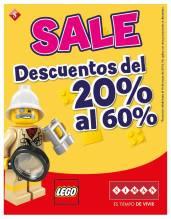 DESCUENTOS juguetes marca LEGO Siman el salvador