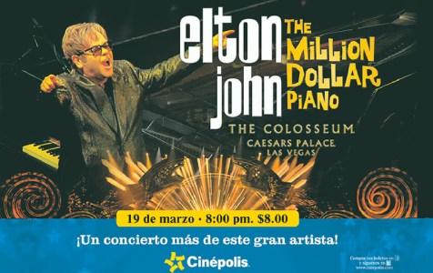 Elton John THE Million Dollar Piano SPECIAL concert CINEPOLIS sv