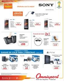 Encuentra promociones de VERANO ofertas OMNISPORT el salvador - 08mar14