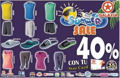 GALAXIA deportes SUMMER SALE - 15mar14