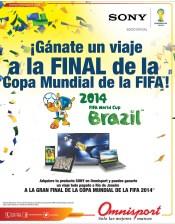 Gana un viaje a la FINAL de la copa mundial OMNISPORT promociones