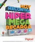 Hyper Mega recarga DIGICEL hoy - 09mar14
