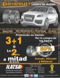 LLantas CONTINENTAL tires promociones - 03mar14