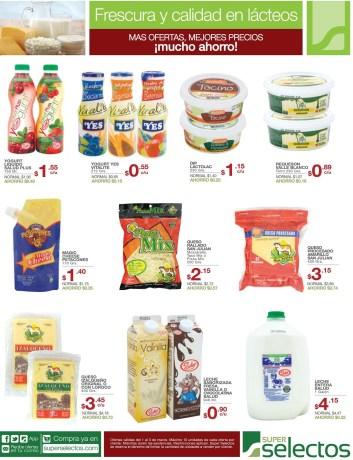 Lactos yogourt dip queso leche SUPER SELECTOS - 01mar14
