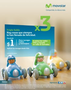 MOVISTAR el salvador hoy triple saldo - 31mar14